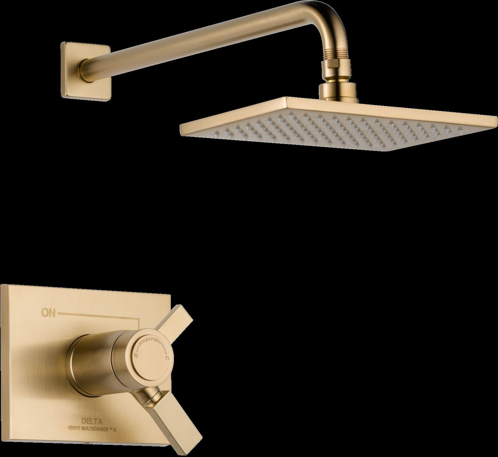 Vero Volume Control Shower Faucet Trim with Lever Handles and ...