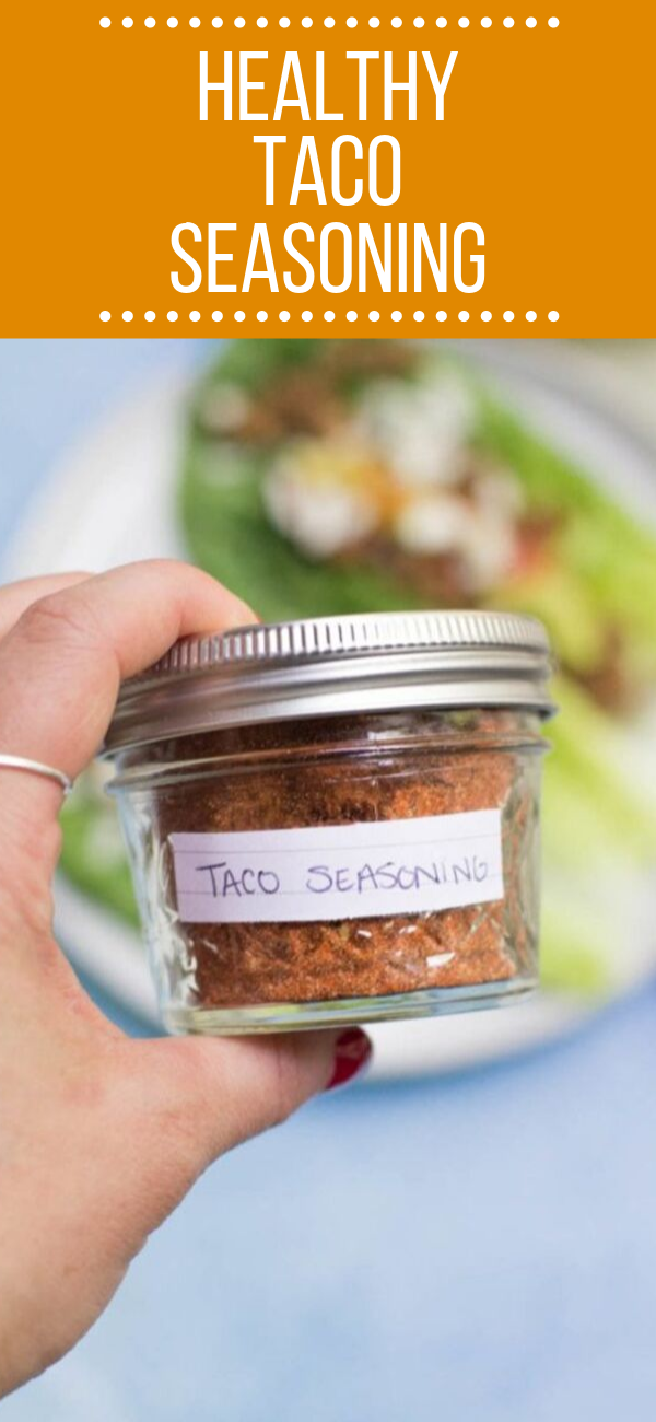 Healthy Taco Seasoning #diytacoseasoning Healthy Taco Seasoning is Whole30, paleo, gluten free and SO much better than store bought packets! A quick + easy DIY taco mix that is full of flavor!#paleo #tacos #whole30 #glutenfree #dairyfree #healthy #tacoseasoningpacket Healthy Taco Seasoning #diytacoseasoning Healthy Taco Seasoning is Whole30, paleo, gluten free and SO much better than store bought packets! A quick + easy DIY taco mix that is full of flavor!#paleo #tacos #whole30 #glutenfree #dair #diytacoseasoning