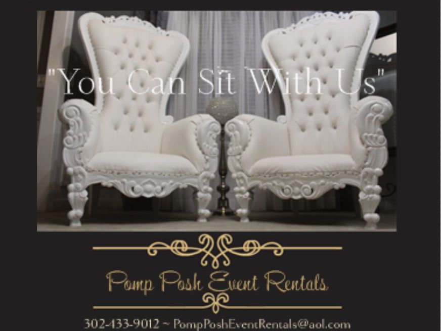 Pomp Posh Event Als Throne Chairs King And Queen Charlotte Nc No 1 Chair Al Company