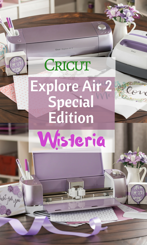Cricut Explore Air 2 Special Edition Wisteria Machine Bundle Ad Cricut Cricut Cricut Explore Cricut Explore Air
