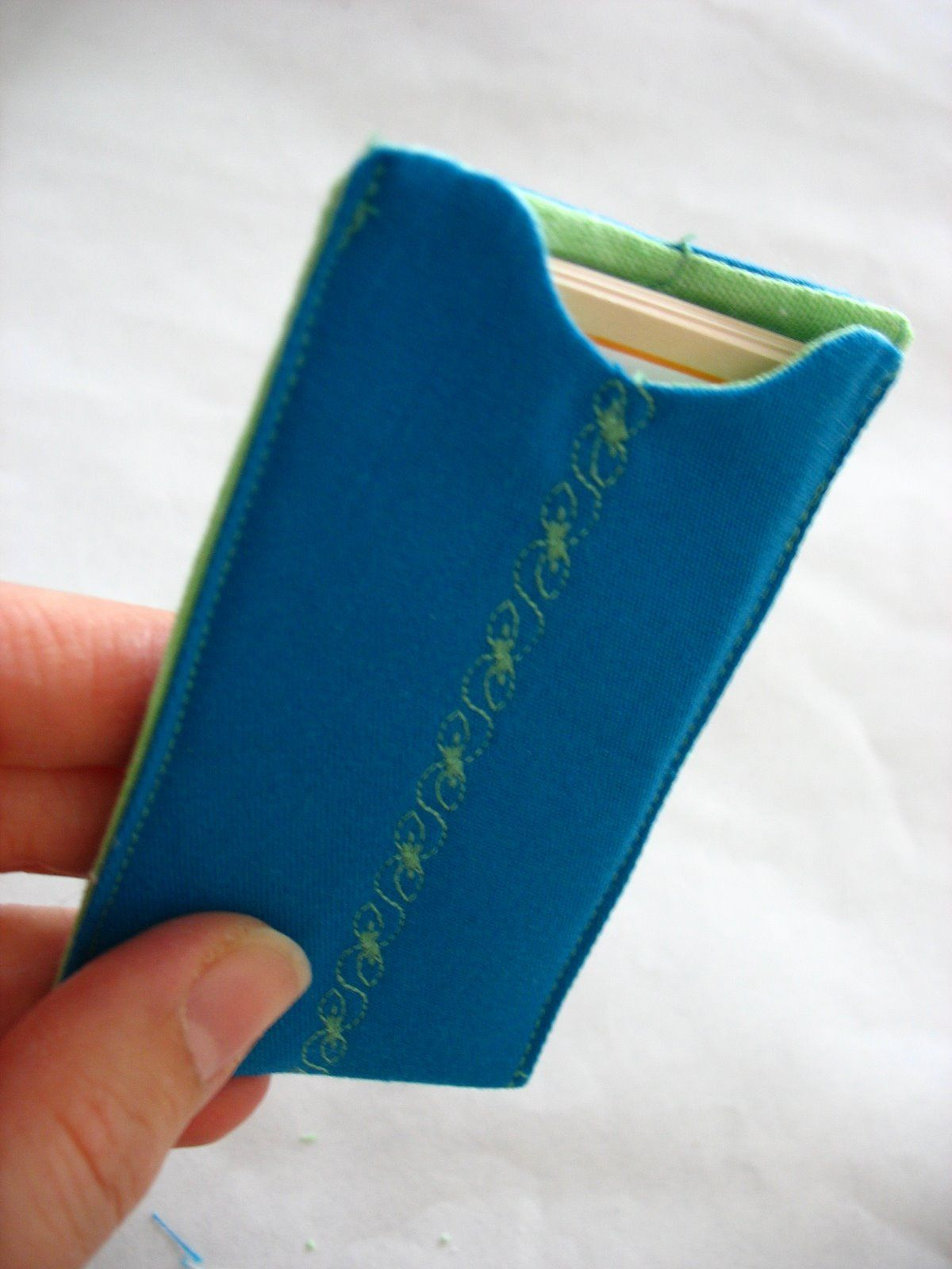 Fabric Business Card Holder | JW | Pinterest | Business card holders ...