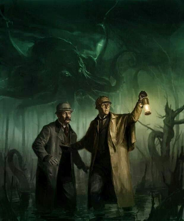 Karl Kopinski : Doyle meets Lovecraft