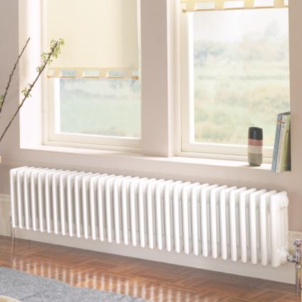 Acova 4 Column Radiator White W 1042 H 300 Mm Image 3
