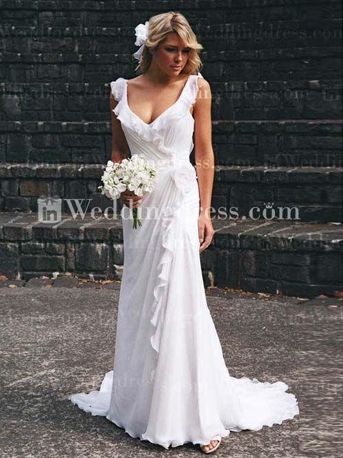 Beach Style Wedding Dresses Australia - Ocodea.com
