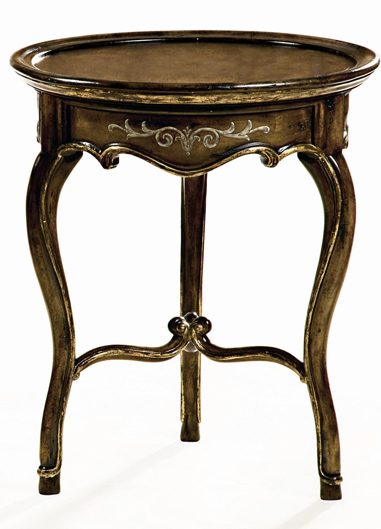 Les Marches Chairside Table By Marge Carson Marge Carson