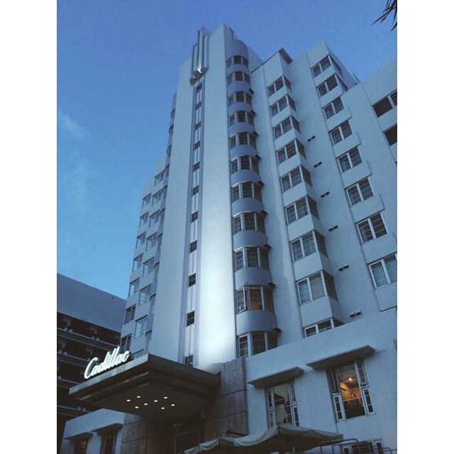 Deliveries To The Beautiful Cadillac Hotel In South Beach