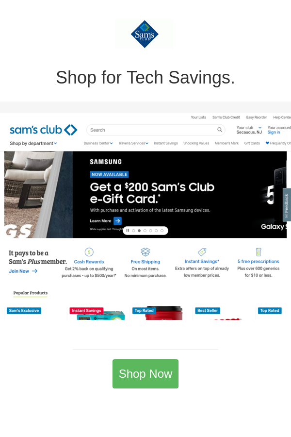 Best Deals And Coupons For Sam S Club In 2020 Sam S Club Coupons