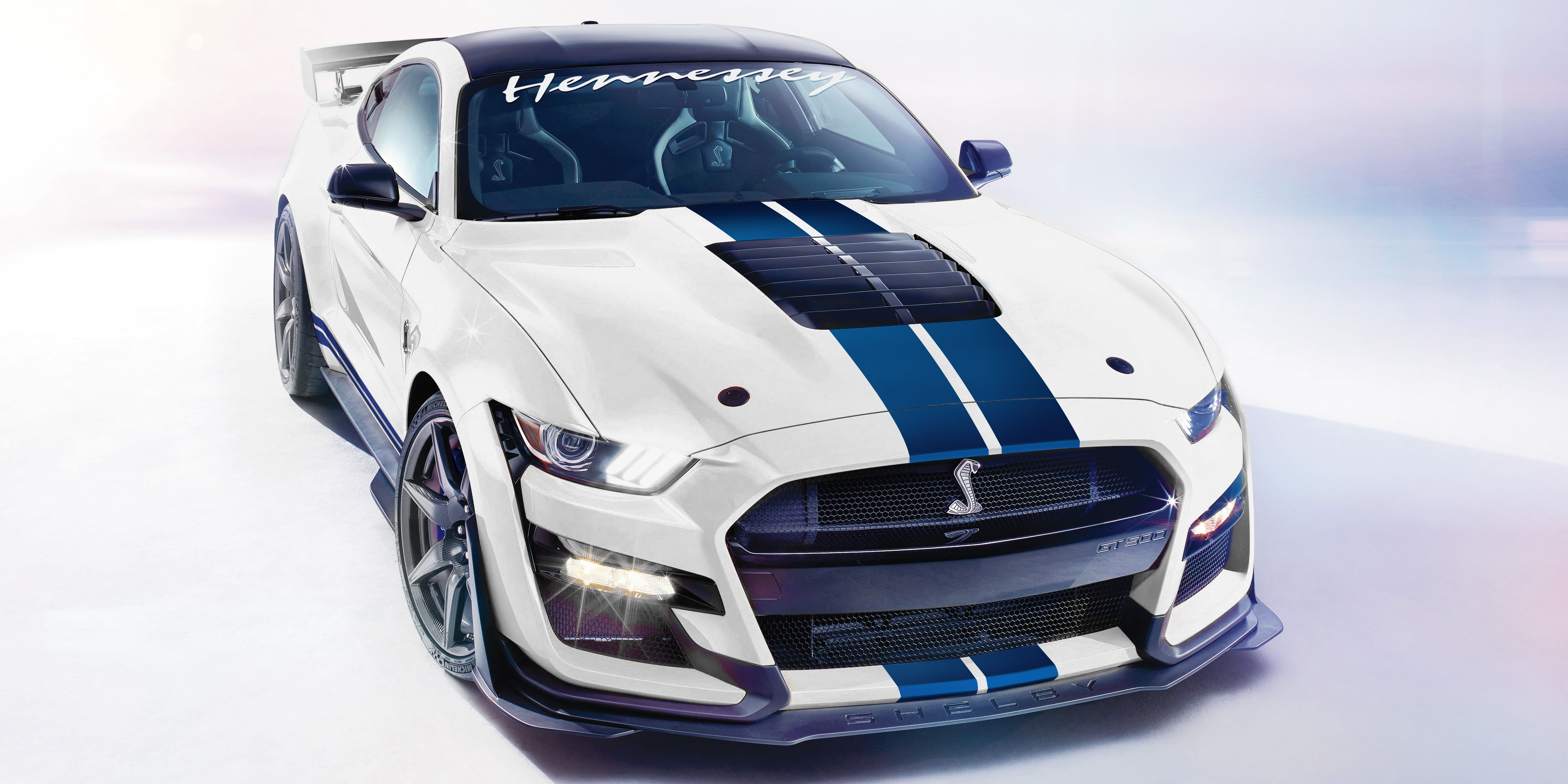 2020 Ford Mustang Shelby Gt500 By Hennessey Top Speed Ford