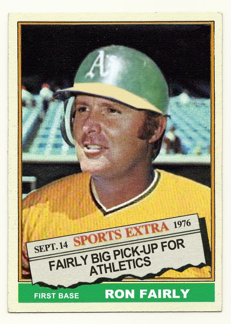 The Baseball Card Blog 1976 Topps Traded The Missing