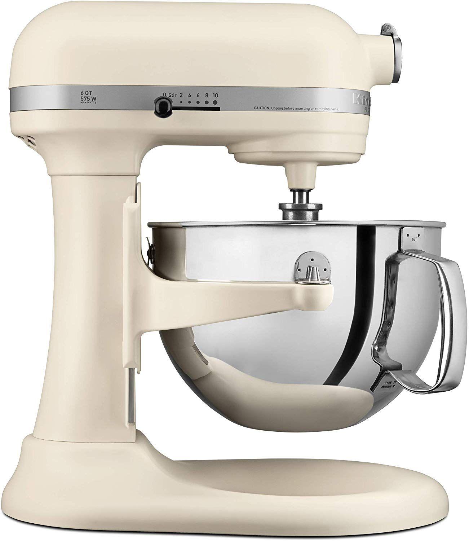 matte white kitchenaid artisan mixer