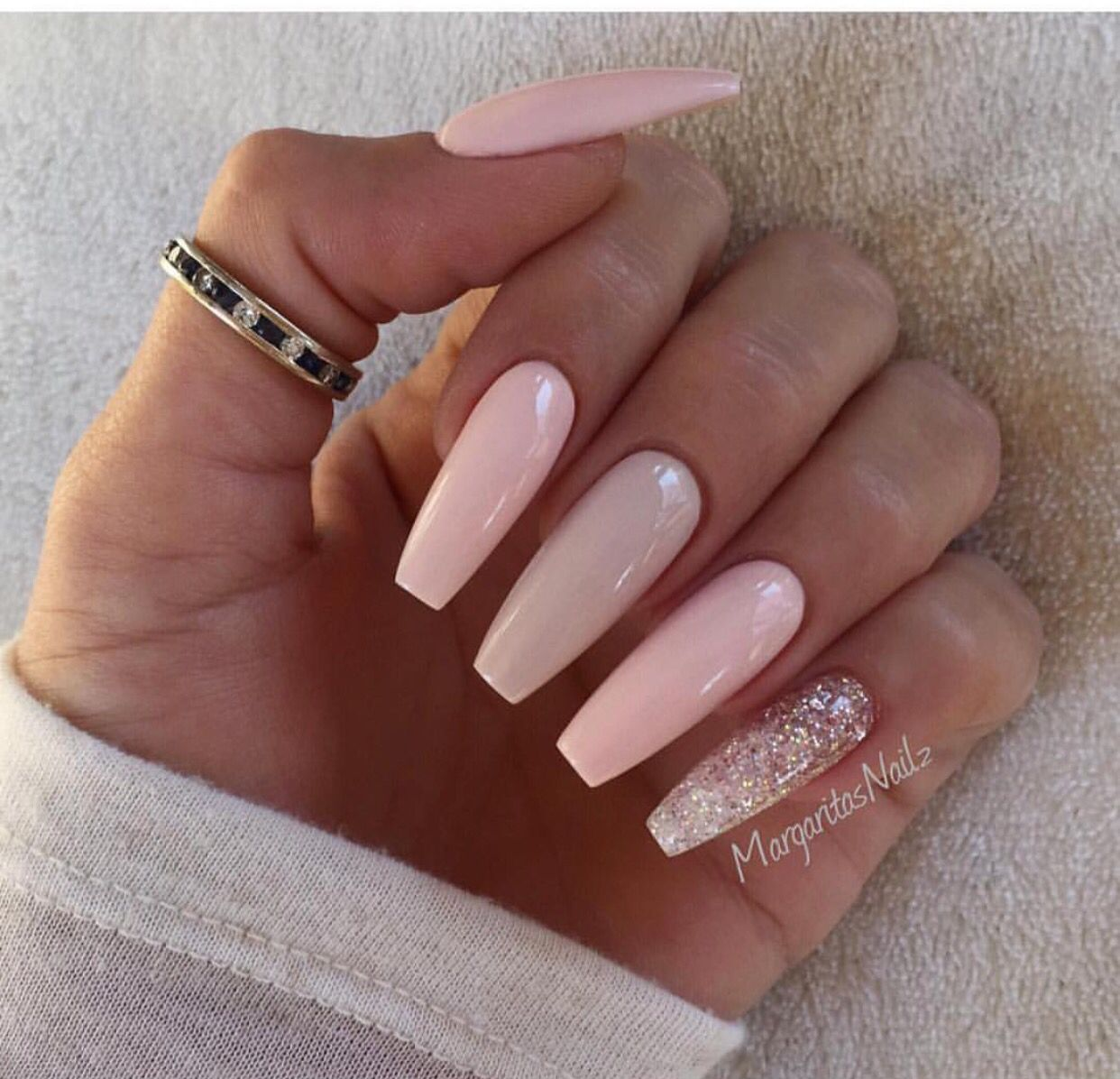Coffin nails | My | Pinterest | Coffin nails, Nail inspo and ...