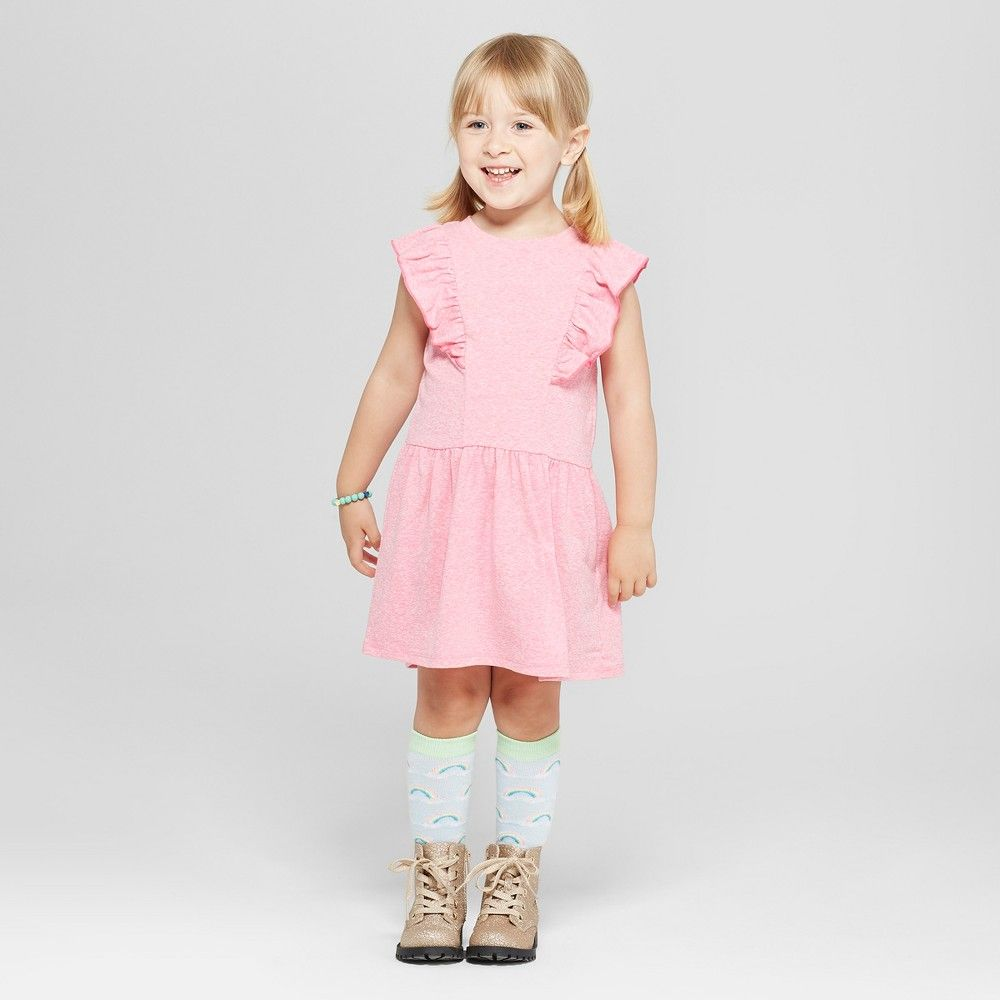 3c4128c05 Toddler Girls' A-Line Dress - Cat & Jack Paradise Pink 3T | Products ...