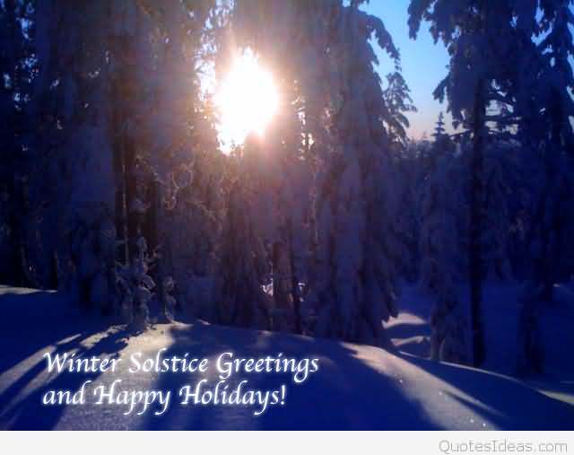 Winter solstice greetings and happy holidays my solstice winter solstice greetings and happy holidays m4hsunfo