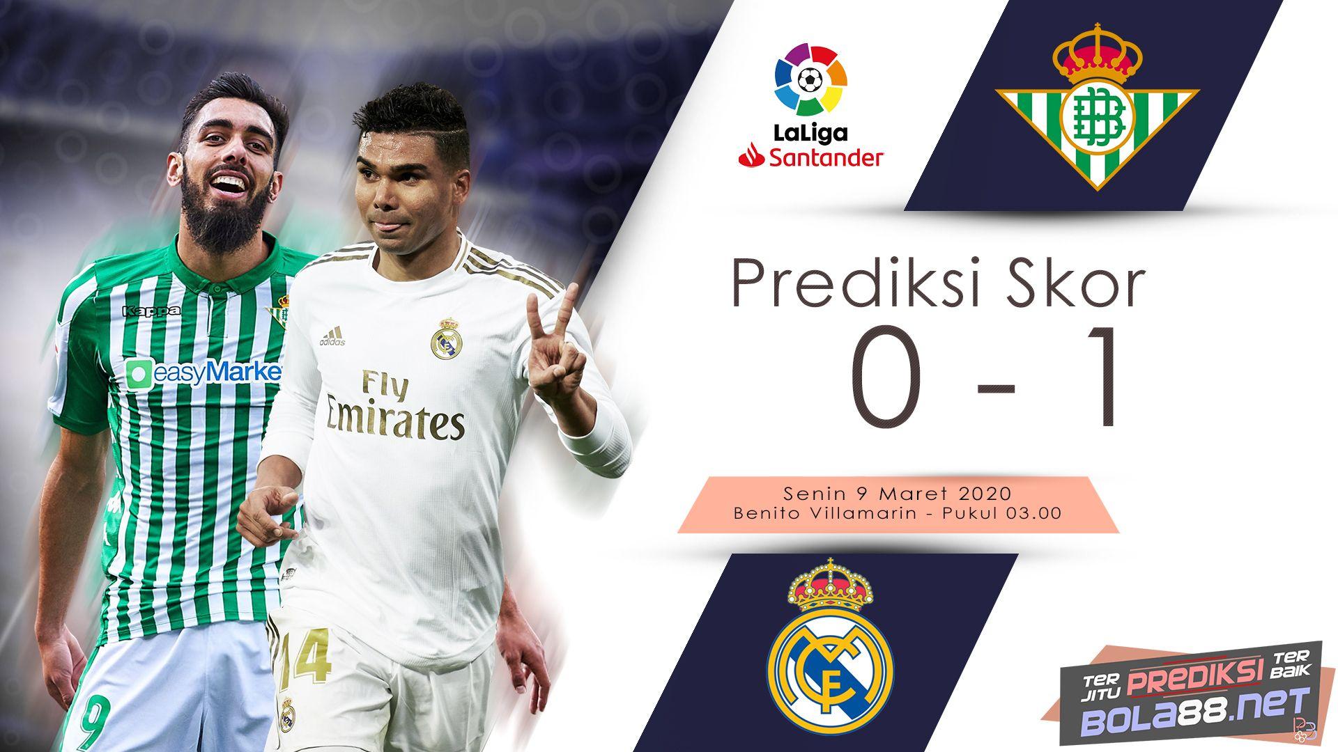 Prediksi Bola Real Betis Vs Real Madrid 2020 Di 2020 Real Madrid Utah Jazz Madrid