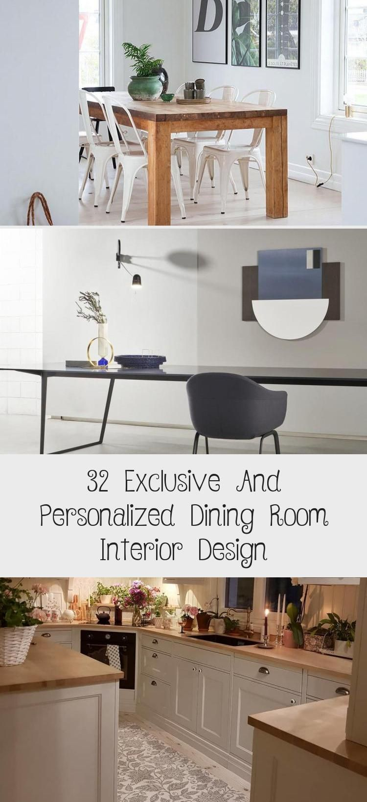 32 Exclusive And Personalized Dining Room Interior Design – İnformation Decor