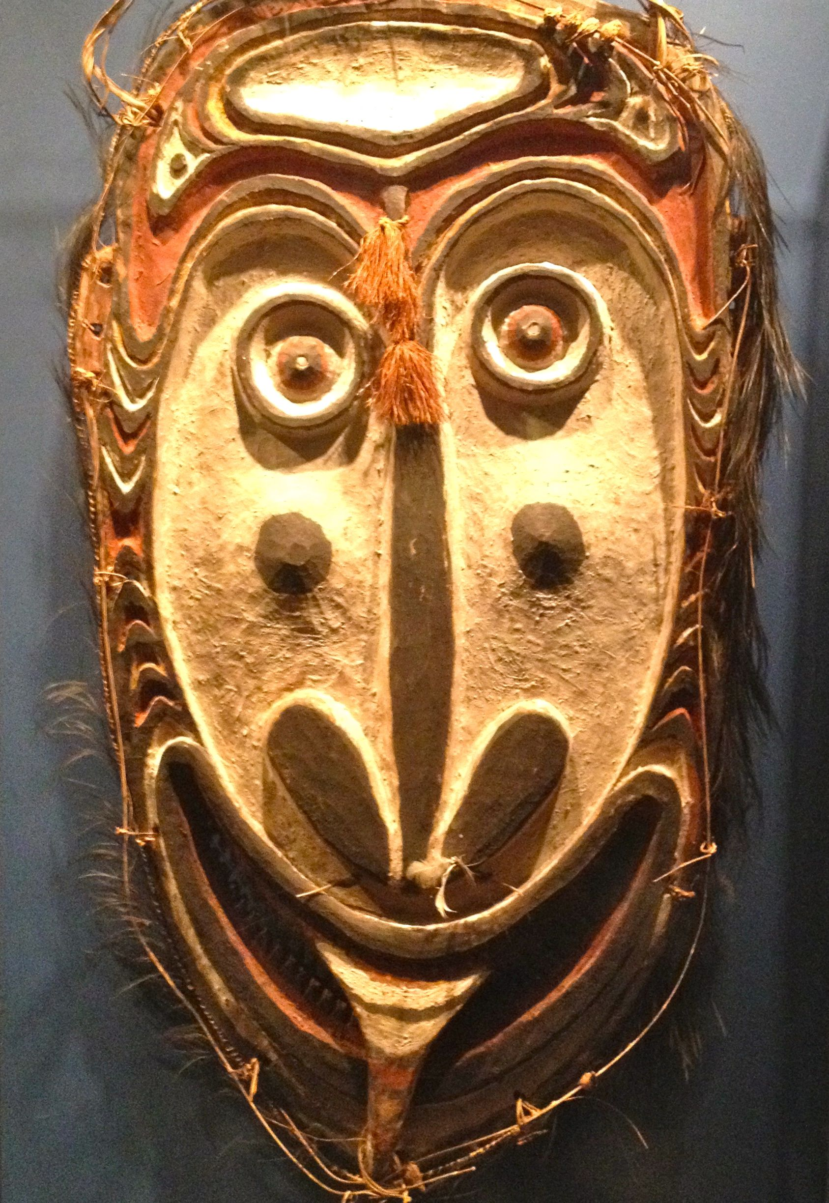 Mask From The North American Ethnographic Collection Of