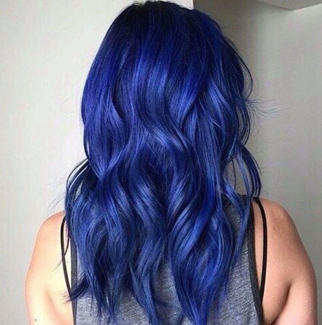 Dark Blue Hair Dye Galhairs