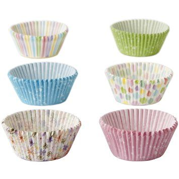 Amazon Com 415 7906 Wilton Assorted Spring Baking Cups 150 Count