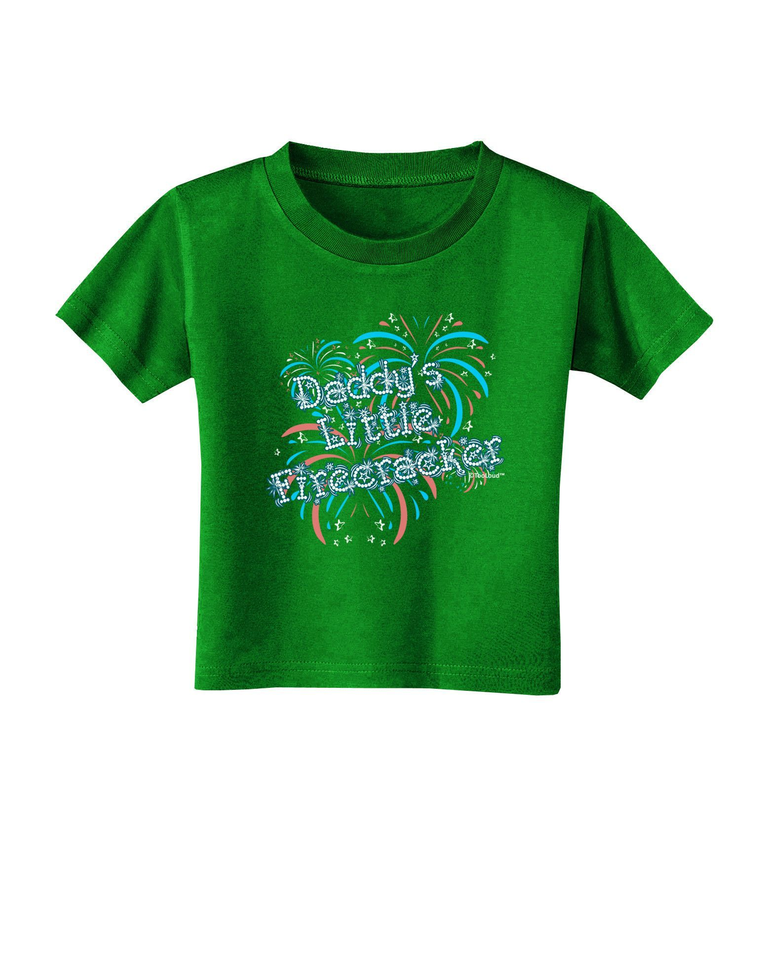 TooLoud Buy Local Produce Text Infant T-Shirt Dark
