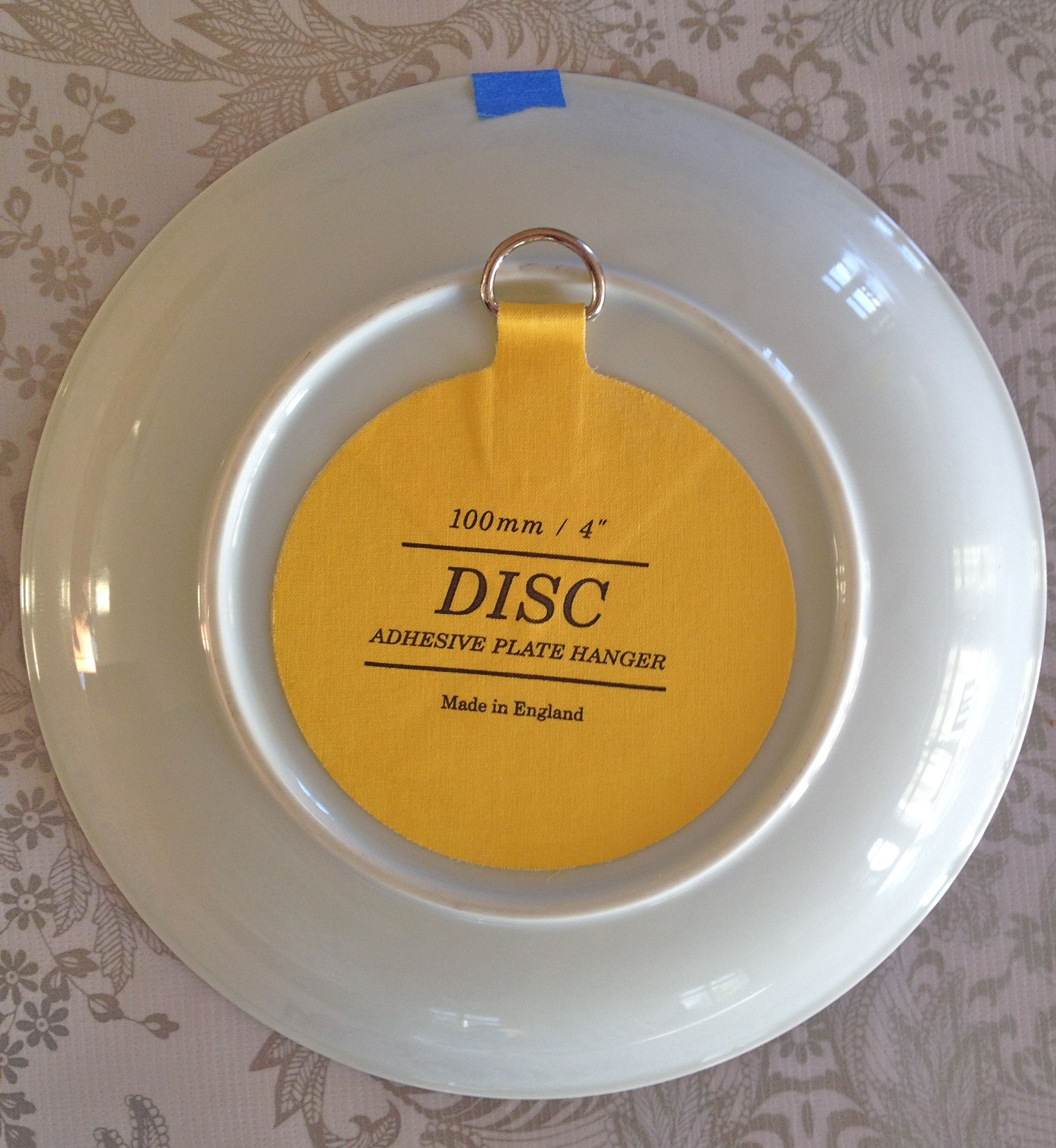 adhesive plate disk - can buy on Amazon here http://www.amazon.com ...