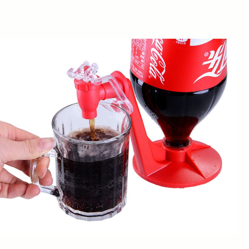 Portable Party Soda Fizz Saver Dispenser Bottle Drinking Water Dispense Gadget Machine