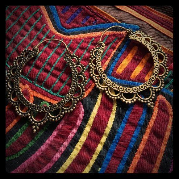 Gypsy Indian dancer earrings Beatiful gypsi Indian dancer aerrings hand made in India  Iyari corazon Jewelry Earrings