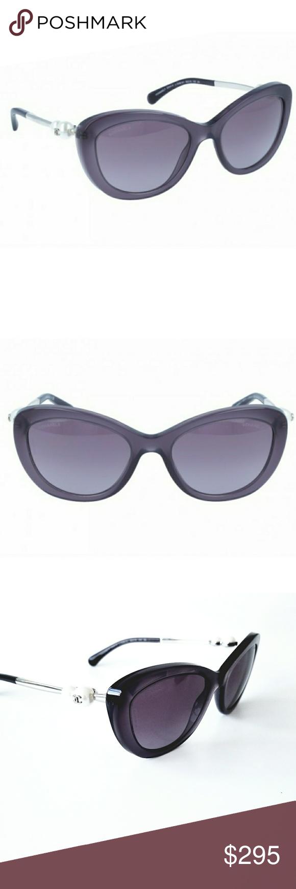 f113b5c2a1 Chanel 5340-H Cat Eye Pearl Purple Sunglasses Authentic Chanel Sunglasses  5340-H Cat