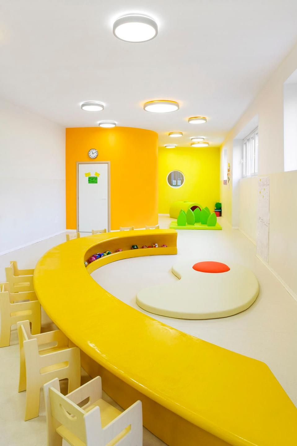 Massimo Adiansi Nursery - play room - add rest of Lego colors - neon ...