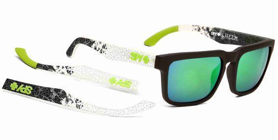 b34df5b27e Ken Block Spy + Livery Grey Helm Sunglasses