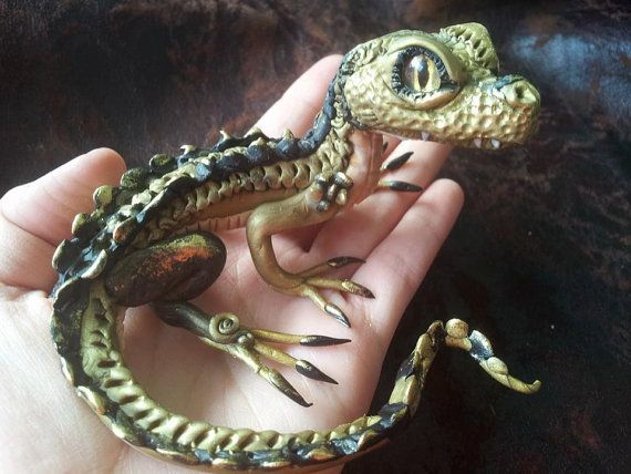 Caymee Baby Caiman by MakoslaCreations on Etsy, $70.00
