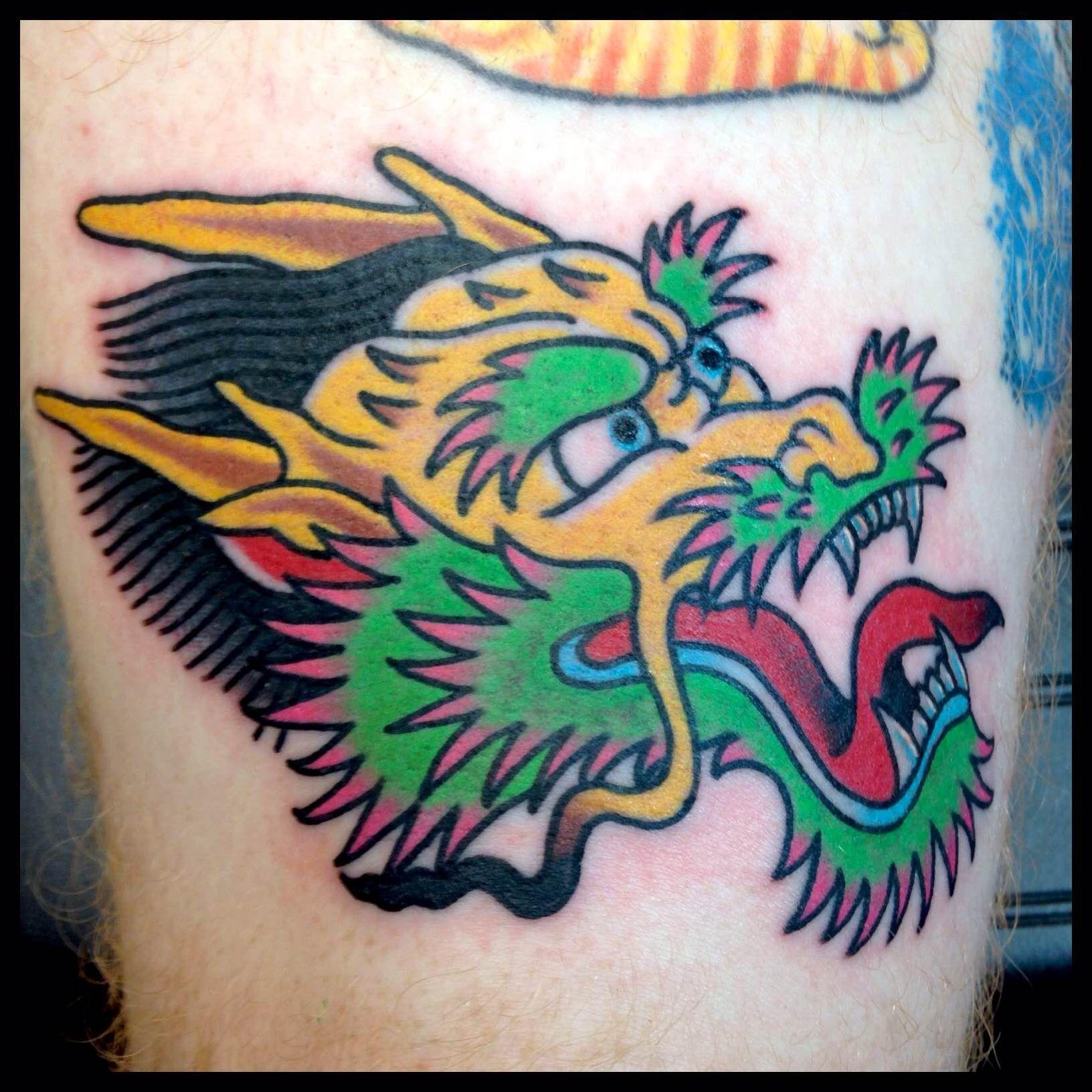 dragon head tattoo tattoo idears pinterest dragon head