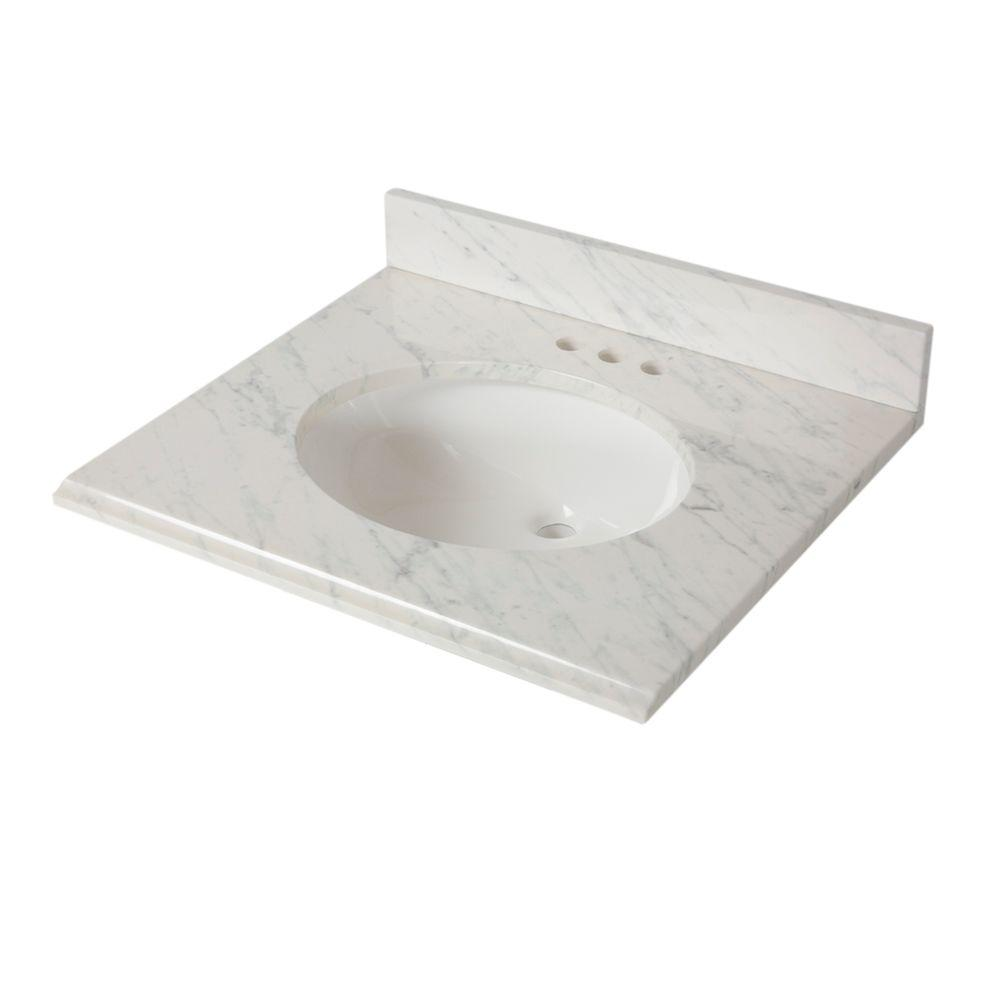 Home Decorators Collection 25 In W X 22 D Stone Effects Vanity Top Cascade Seo2522com Cs The Depot