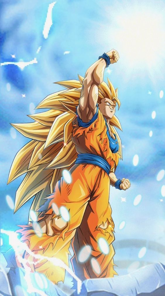 SSj 3 Goku: Dragon Ball Z Transformtion