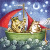 'The owl and the pusscat by Sophie Windham