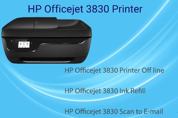 123 Hp Com Oj3830 Setup Install And Connect Hp Oj3830 To Wifi Hp Officejet Multifunction Printer Mobile Print