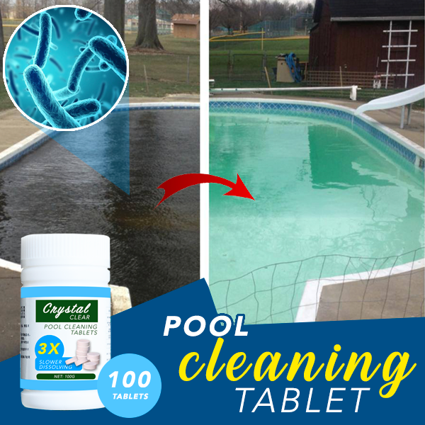 Pool Cleaning Tablet 100 Tablets Pool Cleaning Swimming Pool Cleaners Pool