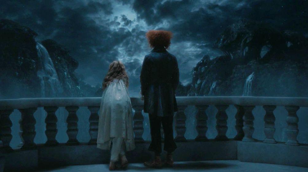 Alice and the Mad Hatter. Alice in Wonderland (Tim Burton Version).