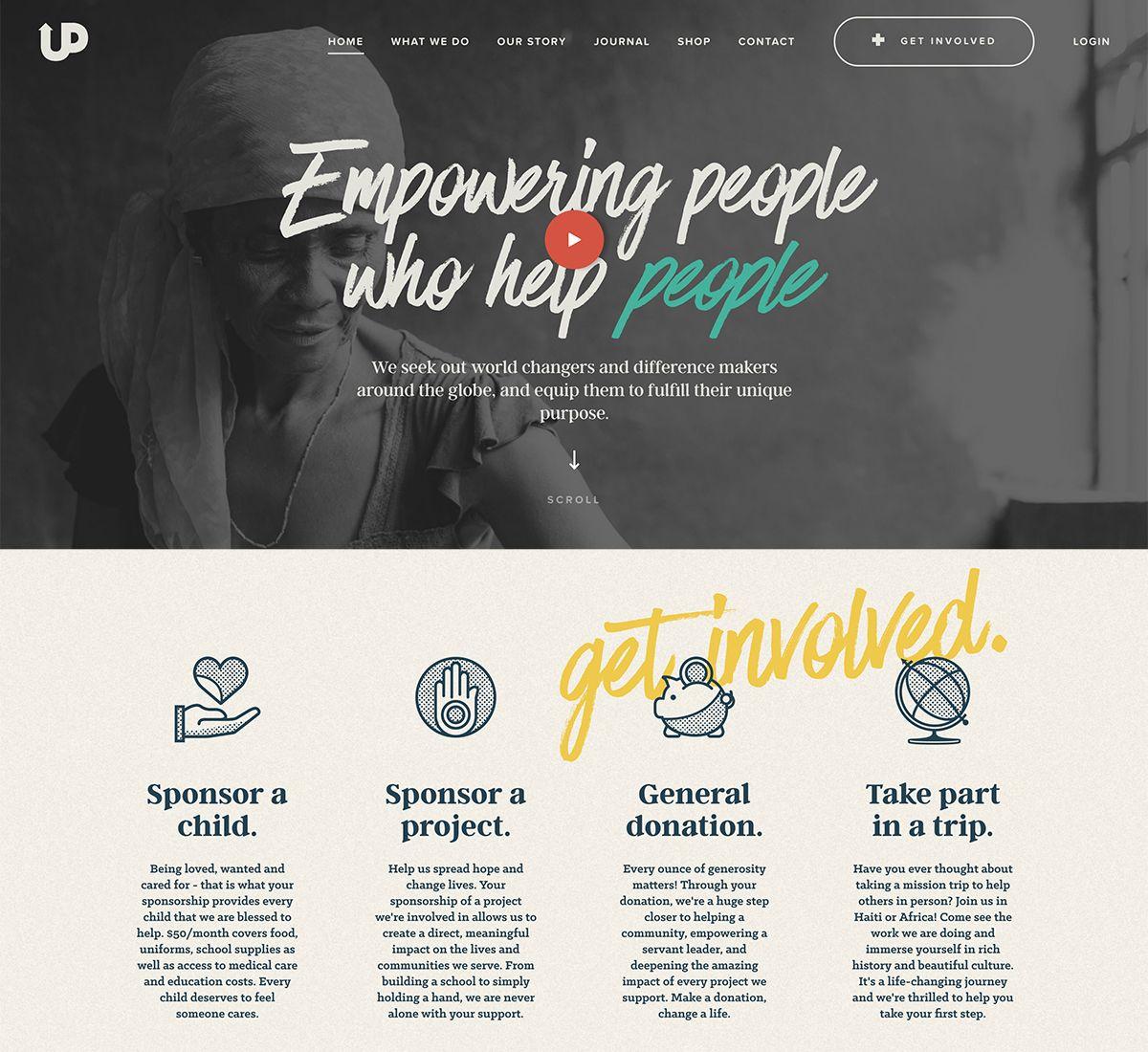 2018 Best Nonprofit Website Design Inspiration Nonprofit Website Design Web Design Nonprofit Nonprofit Website
