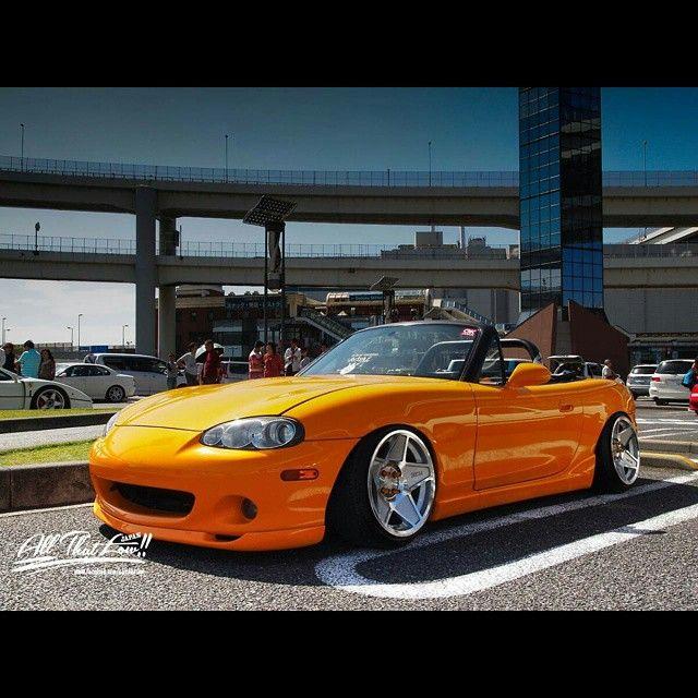 "topmiata: ""@yamata1 | #TopMiata #mazda #miata #mx5 #eunos #roadster #3dsm #japan #jdm"""