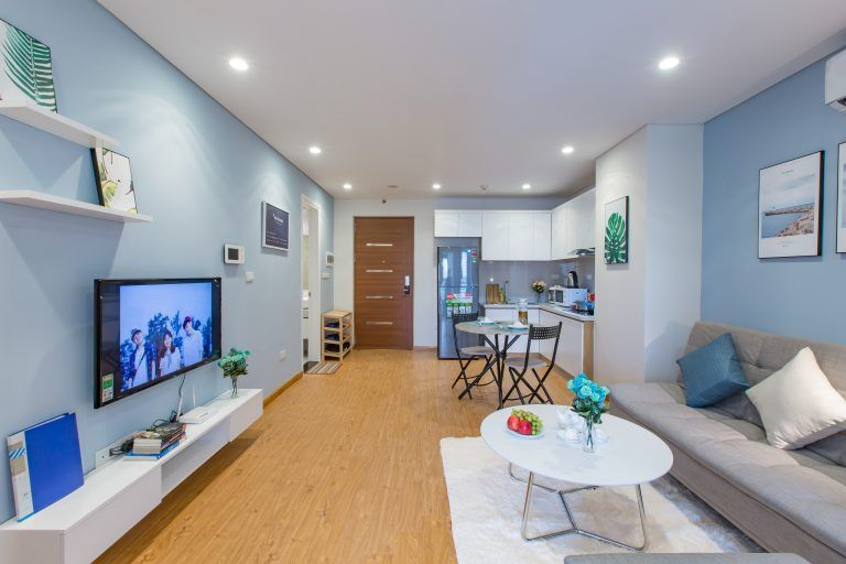 1 Bedroom Apartment For Rent In Hong Kong Tower Ba Dinh