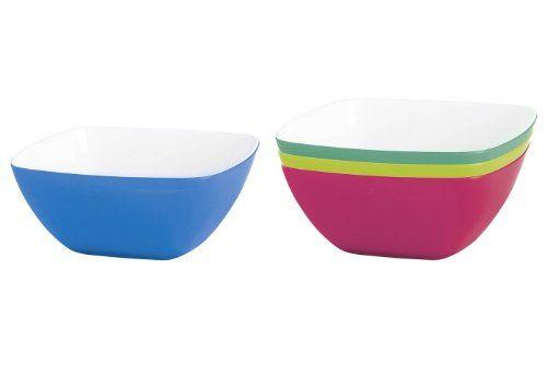 "Emsa Germany Set of 4 ""Vienna"" Trendy Bowls in a Variety of 4 Cheerful Colors Enhance Your Tables Display 5.5 Inch Grapefruit Emsa http://www.amazon.com/dp/B00I11UKQE/ref=cm_sw_r_pi_dp_uJyXub07EDNJQ"