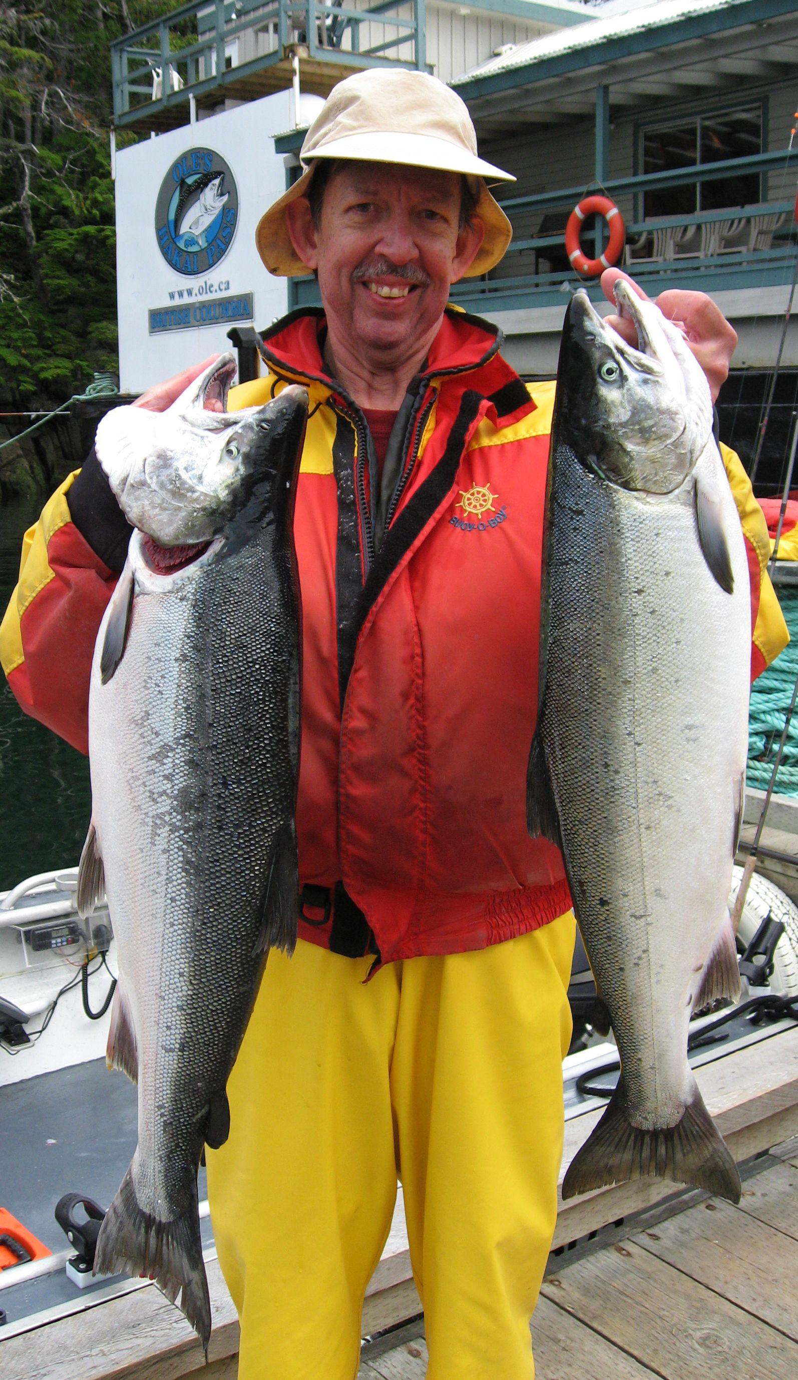 Pedro Borrell Photo Living Life Large! www.ole.ca #Salmon #Fishing ...