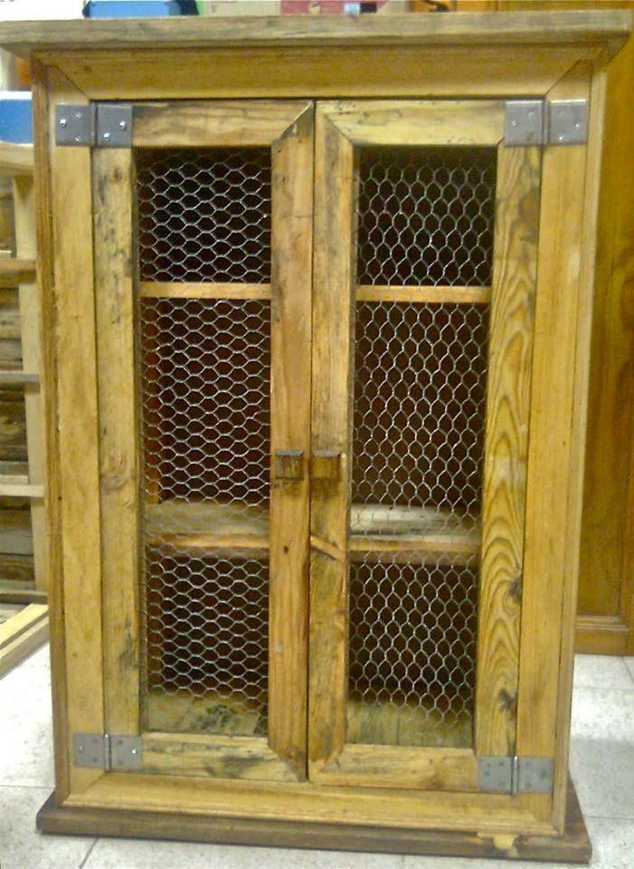 Armario para el ba o muebles hechos con palets - Armarios hechos con palets ...