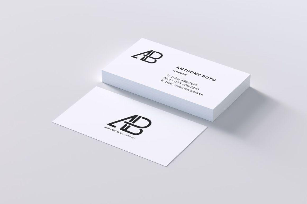 Download Free Modern Business Card PSD Mockup - Free Mockups ... Free Mockups