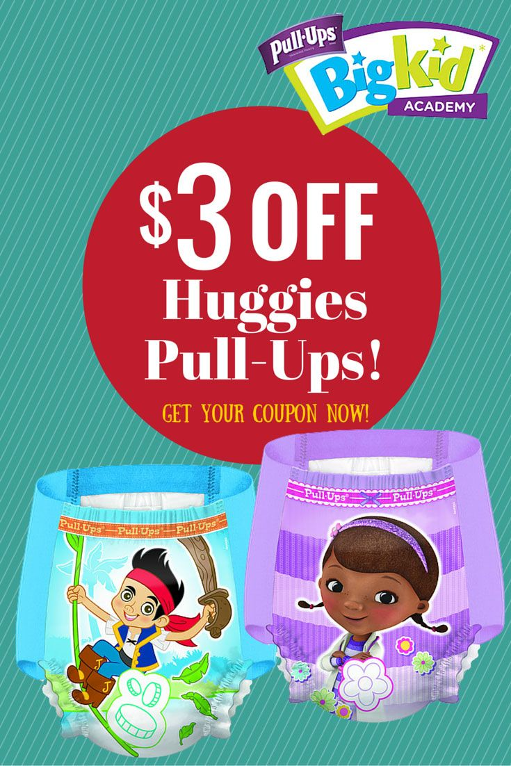 3 Off Huggies Pull Ups Get Your Coupon Pullupsbigkiddeal