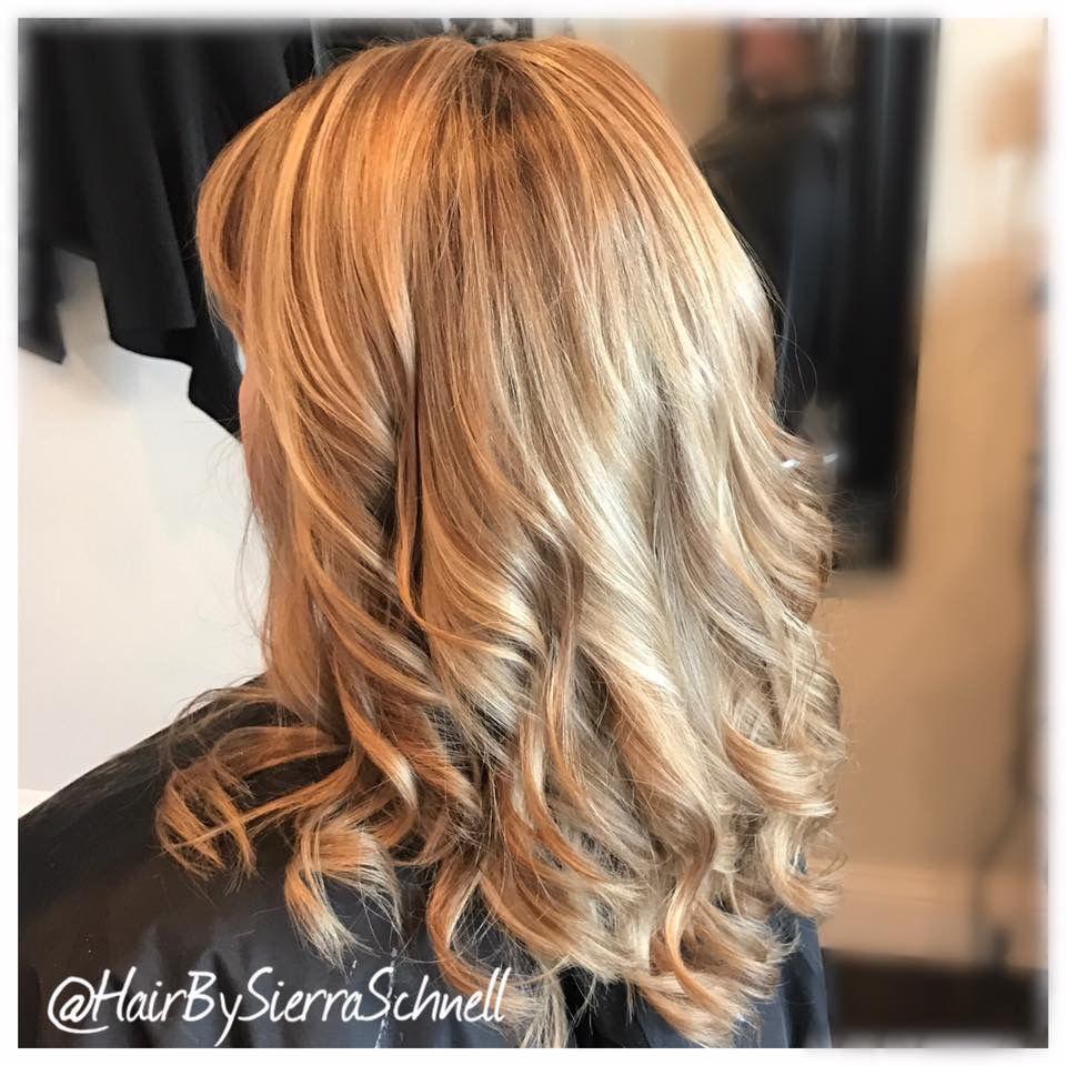 Bombshell blonde by sierra schnell envysalonstudio in wasilla