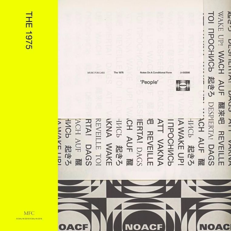 The 1975 Notes On A Conditional Form Lyrics And Tracklist Genius The 1975 The 1975 Album Cover The 1975 Album