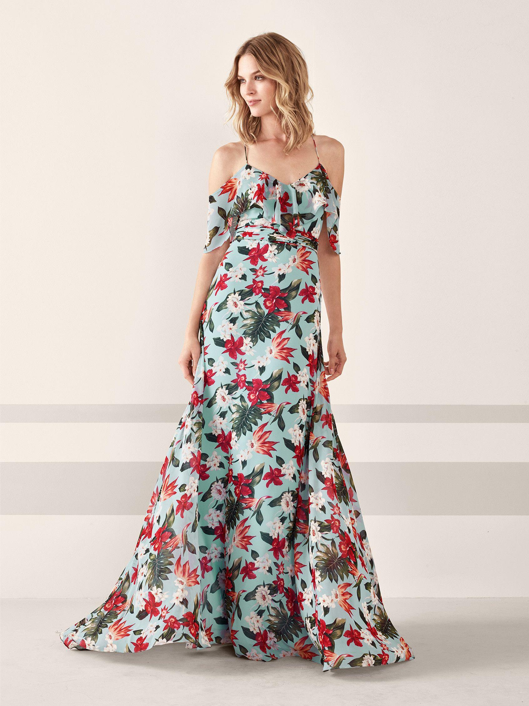 5745e8e1835 Boho-chic cocktail dress with flower print JAMEO