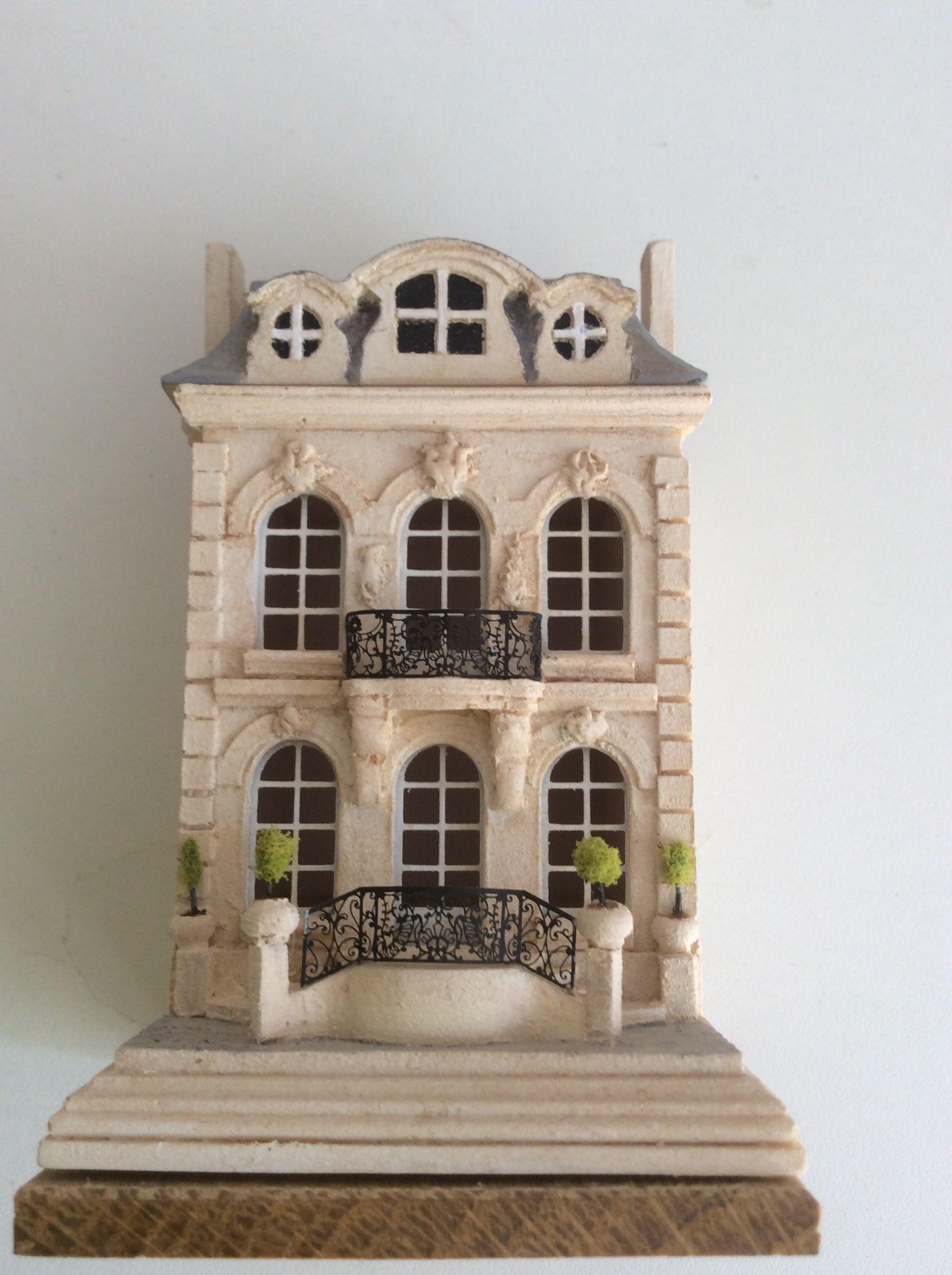 A Modelroom house by Robert Dawson Miniature rooms