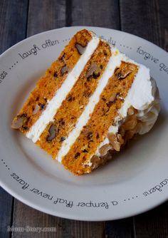 американский морковный торт рецепт